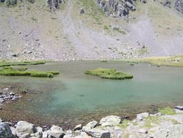 Lake near Refuge Migliorero by FraterSINISTER
