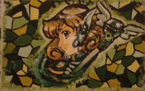 Corrector Yui stained Glass by Avril-TRON-LuKon