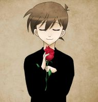 Kudou Shinichi : Rose by Chokinis