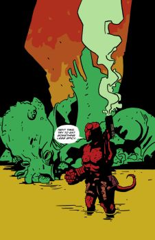 Hellboy meets Cthuhlu 2 by 007Alfredo