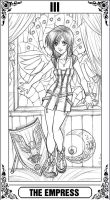 KH Tarot: The Empress by Autumn-Sacura