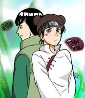 Lee and Tenten by AcezEdge