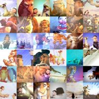 Ice Age Icon Group by chameron