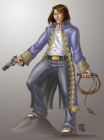 Christopher Serban Commission by StriderDen