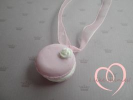 Macaron Necklace by ilikeshiniesfakery