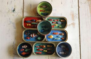 Recycled fish tin's :) by LazarG
