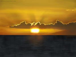 Cloud Speed Study 1 by Ametystical