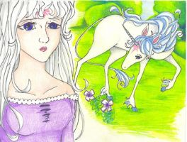 The Lady Amalthea by Meiru-chan