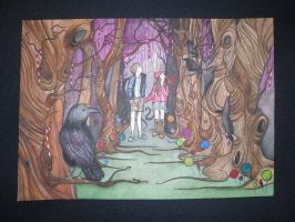 Hansel and Gretel by PrincessCrow