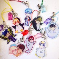 Free!, KnB, Eremin Charms by cambrasine