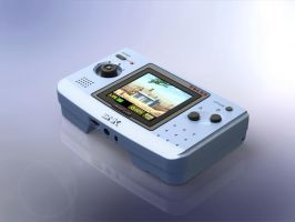 1:5 Scale SNK Neo Geo Pocket Color by DrOctoroc