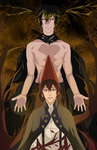 Over the Garden Wall: Wirt and The Beast by ototobo