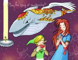 Play the song of awakening by onyligtho