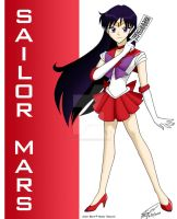 Sailor Mars Fan Art by ArthurT2015