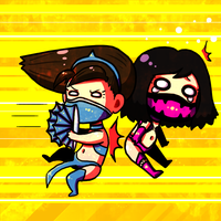Mileena being abused by VooDooDollMaster