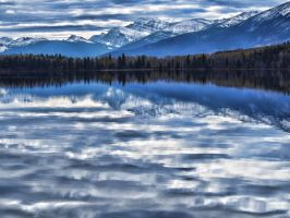Blurry Blue by AgilePhotography