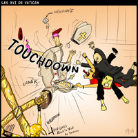 Touchdown by PhantomxLord