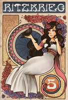 Rose Nouveau by spiffychicken