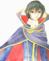 Lelouch Lamperouge by FluffySquirrel