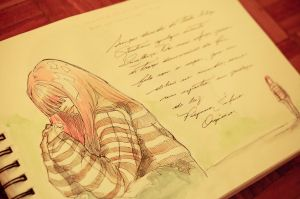 My sketchbook - 08 - So Allein by Isis-M