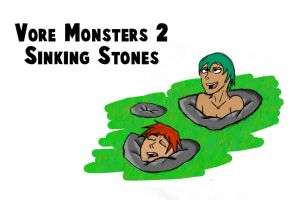 Vore Monsters 2 Sinking Stones by DR4WNOUT