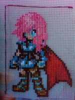 Lightning cross stitch by Z-Ryuuji359