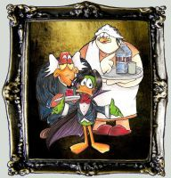 Count Duckula - Blood or Milk by Giosuke