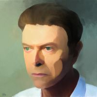 Happy Birthday Mr. Bowie by fmr0