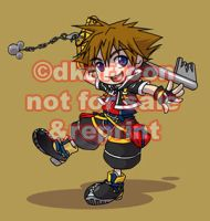 KH2 - Sora by dkartoon