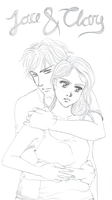 Jace and Clary by onlymistress