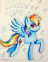 Rainbow Dash by ChronyPony