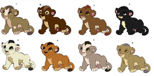 Point Adoptables 3 by Claire-Cooper