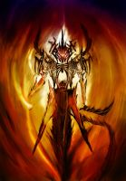belial-demon of rage by leonart87