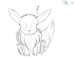Eevee you derp by Dawn079