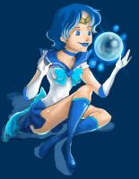 Sailor Mercury by i-am-MOKEY