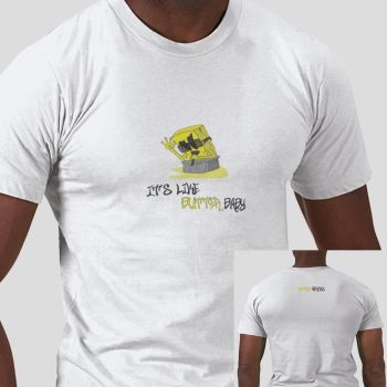 It's like butter,baby by RetroHeroesClothing