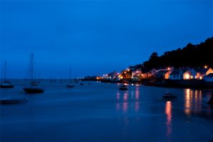 Aberdovey by Night by mutanteyeball