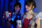 Beyond Two Souls Cosplay Jodie and Aiden by LadyofRohan87