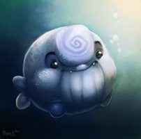 DAY 17. Beluga Whatever (30 Minutes) by Cryptid-Creations