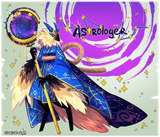 [CLOSED] Adopt auction - Astrologer by visualkid-adopts