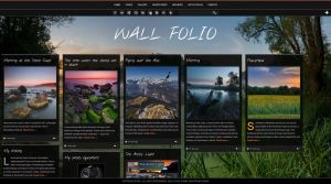 Wall Folio WordPress Theme by ZERGEV