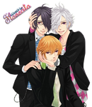 Render Brothers Conflict 02 by YoitsuXFlan