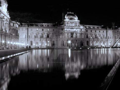 Evening Louvre by WyldSide-mx3