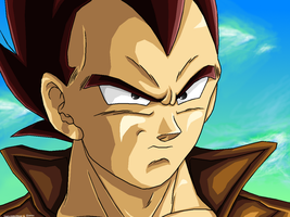 Vegeta-Years passed-REMASTERED by JJJawor