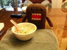 Domo: Breakfast by leannetran
