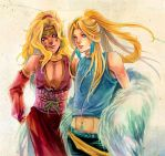 Malik and Mikel by Ecthelian