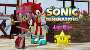 Amy Rose Improved Reupload by FatalitySonic2