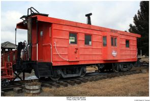 MILW Caboose 991847 by hunter1828