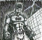 Batman(rough) by theEvilTwin