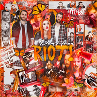 Blend / RIOT! / Paramore by PamHoran
